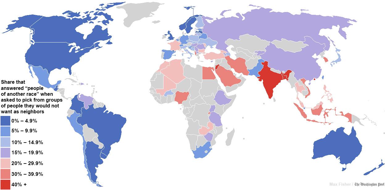 Worldwide Racism